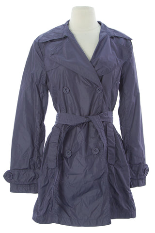 ADD Women's Gardenia Belted Tunic Polyamide Jacket UAW006 $250 NEW