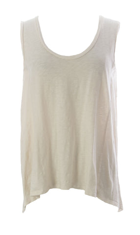 VELVET by Graham & Spencer Women's Beige Sleeveless Open Back Blouse Sz S $89