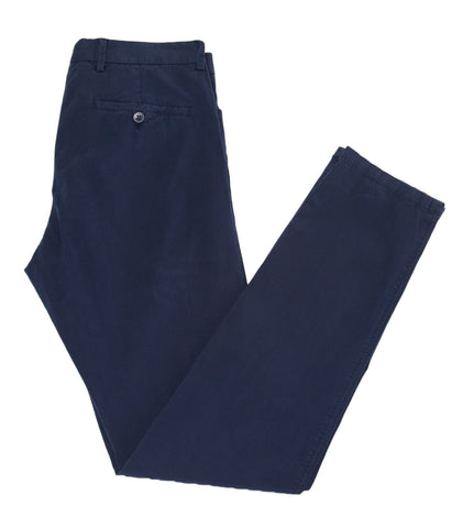 VILEBREQUIN Men's Navy Hook and Bar Chino Pants Sz 48/US 32 $260 NWT