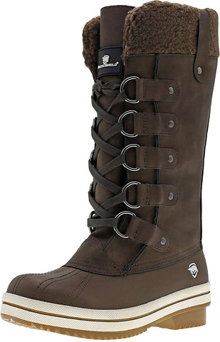 ARCTICSHIELD Women's Brown Insulated Winter Boots WB203 $80 NWT