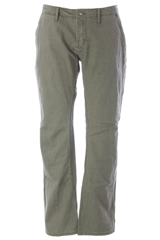 BLUE BLOOD Men's Walker CHT Army Cotton Pants MW07D16 $250 NWT