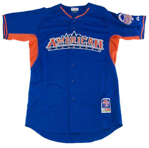 MAJESTIC Men's Blue American 2013 All Star Game Jersey 38A0 $100 NEW
