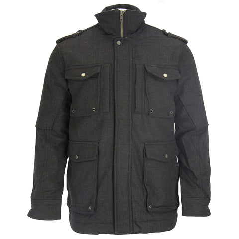 CCC Canterbury of New Zealand Charcoal Hayes 4-Pkt Jacket NE582222 $248 NEW
