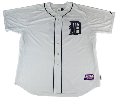 MAJESTIC Men's White Detroit Tigers Price #14 Home Jersey $196 NEW