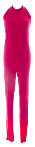 DIESEL Women's Hot Pink Jopy Tuta Halter Jumpsuit #00C8NI NEW