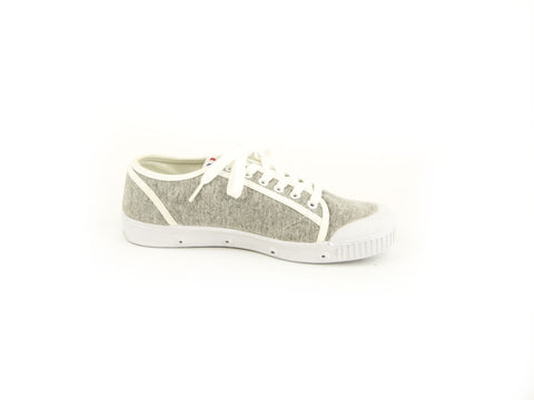SPRING COURT Women's Grey Canvas G2 Retro W Sneakers NEW
