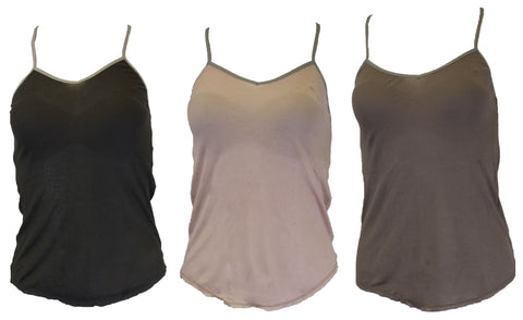 GREY STATE Women's Slate Grey Pinning Cami $42 NEW