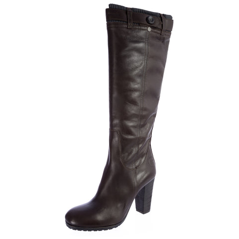 G-STAR Raw Women's BRANDT Threnody Brown Leather Boots GS32890/044 NEW