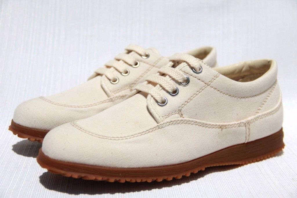 Hogan by TOD'S Scarpa H. Easy Donna Khaki Canvas Sneakers Shoes
