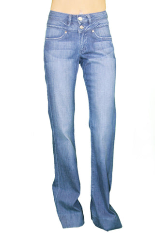 CUSTO BARCELONA Women's Jane Used Light Wash High Waist  Jeans DE3005 $220