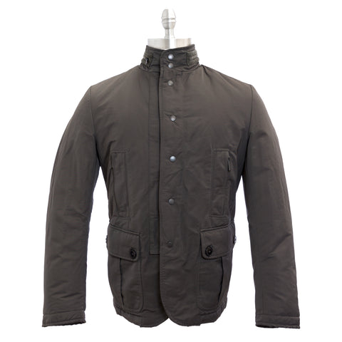 J.W. TABACCHI Charcoal Pocketed Field Style Jacket M20134N NWT $294