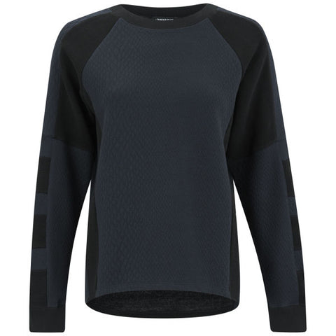 SURFACE TO AIR Women's Navy Lova Sweater Sz 42 $230 NEW