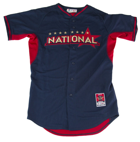 MAJESTIC Men's Navy National 2014 All Star Game Jersey 380A $100 NWOT