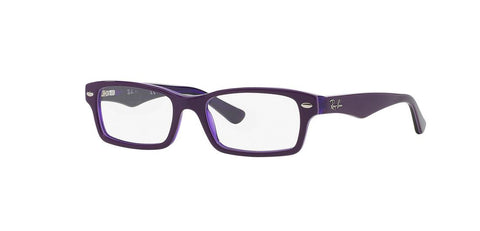 Ray-Ban Kid's Violet Rectangular Eyeglass Frames RB1530-3589 48mm $90 NEW