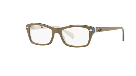 Ray-Ban Kid's Grey Rectangular Eyeglass Frames RB1550-3658 46mm $90 NEW