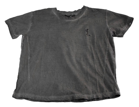 RELIGION Boy's Dark Grey Short Sleeve Shirt BT12RTF11 NEW