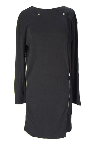 SURFACE TO AIR Women's Black Long Sleeve Smooth Dress Sz 40 $285 NEW
