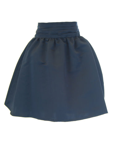 ANNE LEMAN Women's Navy High Waisted Susanna Skirt SP91SK2 $320 NEW