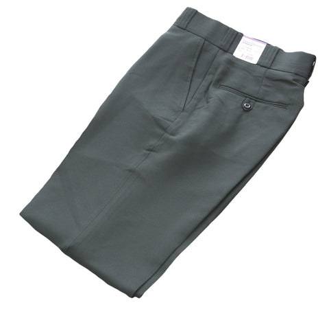 FLYING CROSS Men's Spruce Green Polyester UNHEMMED Uniform Pants #UD34206 NEW