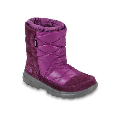 The North Face Girls Shiny Magenta Winter Camp Snow Boots Shoes $70 NEW