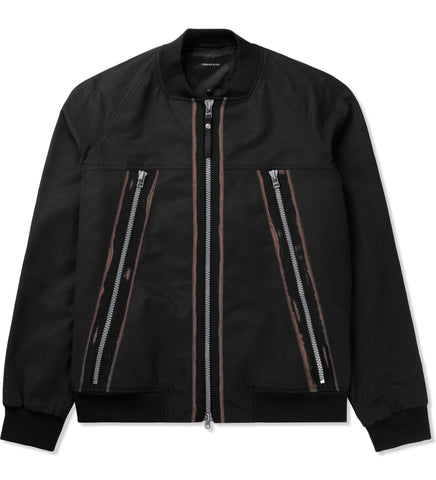 SURFACE TO AIR Men's Tape Shoe Zack Bomber Jacket $585 NEW