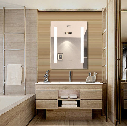 Illuminated Bathroom Mirrors:  A Growing Trend