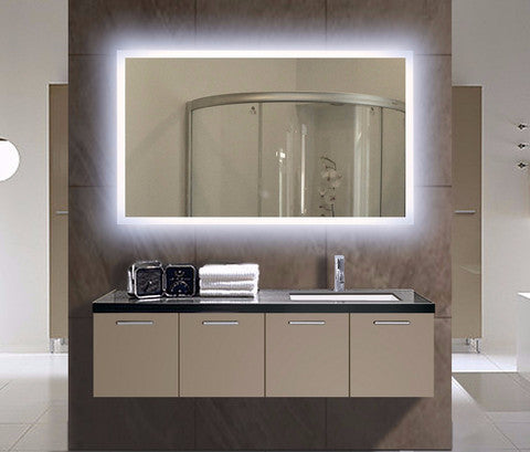 Lighted Bathroom Mirrors for Professionals