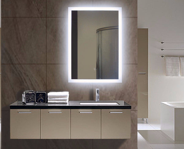 Improve Your Look with an Illuminated Bathroom Mirror