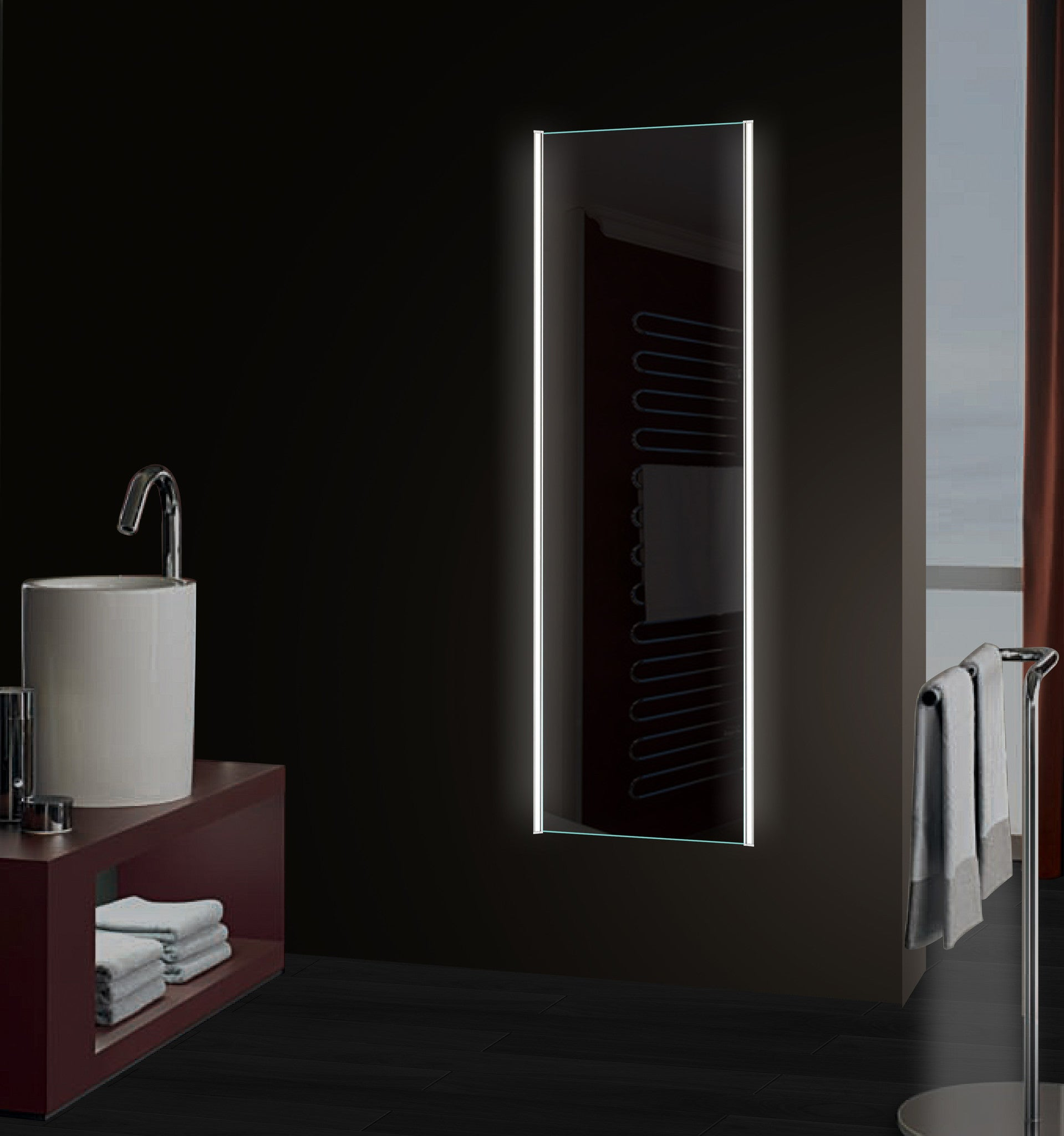 Dressing mirror Slim 65 x 24