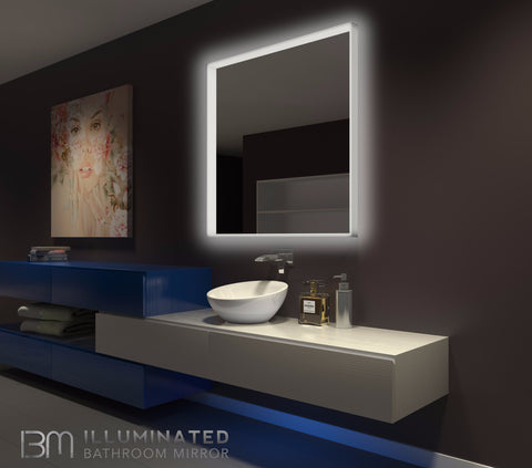 Dimmable Lighted mirror Acrylic 42 x 42