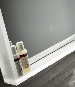 Dimmable Lighted mirror Acrylic 40 x 40