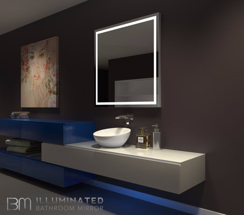 Dimmable Lighted Mirror Harmony 40 X 40