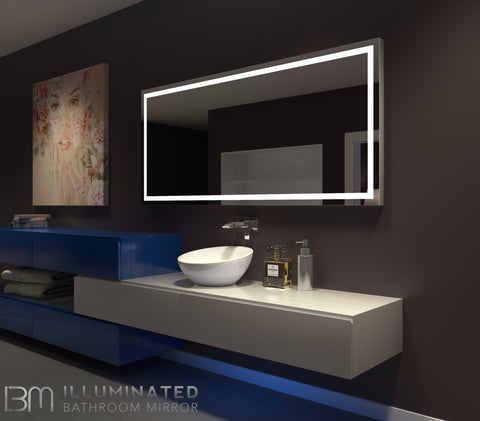 Dimmable Lighted Mirror Harmony 70 X 32
