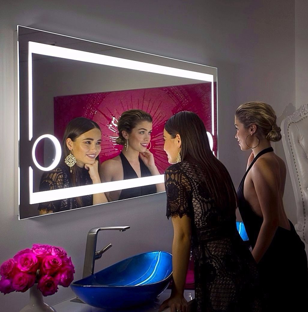 Dimmable Lighted mirror Aurora 60 X 28
