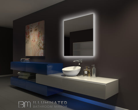 Dimmable Backlit Mirror Original 36 x 36