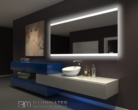 Dimmable Backlit Mirror Paris 80 X 35