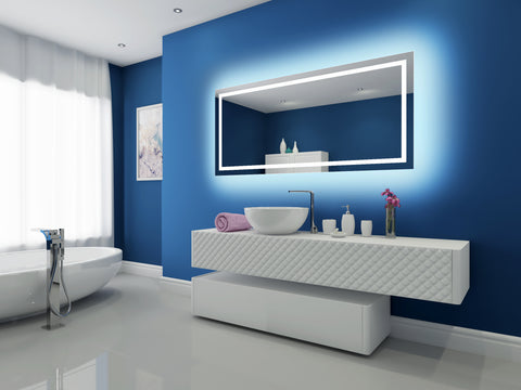 Dimmable Backlit Mirror Harmony 70 X 32