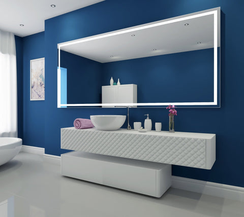 Dimmable Lighted mirror Harmony 100 X 45