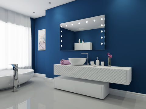 Dimmable Hollywood Mirror  60  x 36
