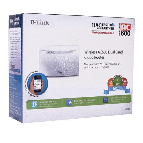 D Link Dir 808 L Dual Band Wireless Ac600 4...