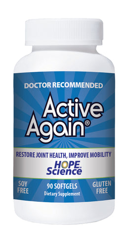 Active Again (EFAC) 90 Gels for Arthritis & Joint Stiffness Human Grade RRP $75 Now $59.95 Save 20%. Click on the Bottle for more information.