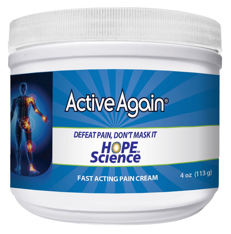 Active Again (EFAC) Joint Pain Support Cream Jar 113gm for Joint Stiffness, Arthritis