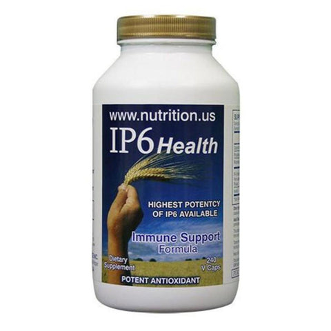 NEW! - IP6 Immune Support Supplement 240 Capsules. Click on the Bottle for more information.