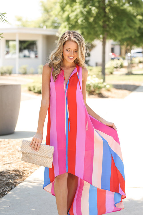 BUDDY LOVE Stripes Of Summer Dress