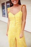 Sunshine Flowers Jumpsuit