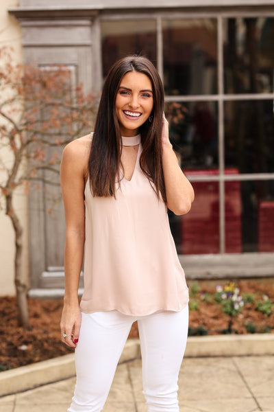 The Madison Top - Blush