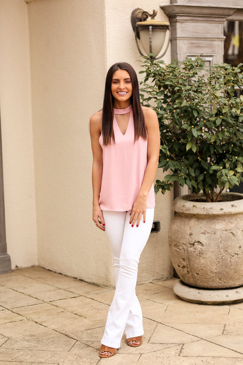 The Madison Top - Pink
