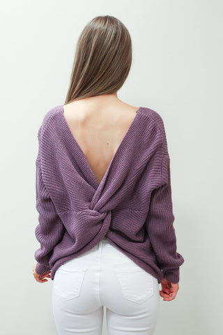 Twisted Love Sweater