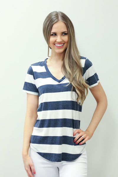 Z SUPPLY Naples Striped Tee