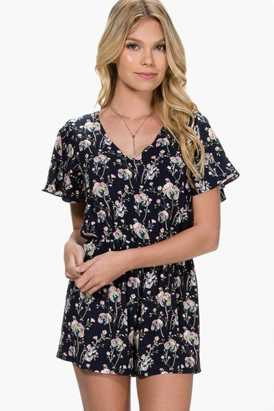 EVERLY Fields of Love Romper